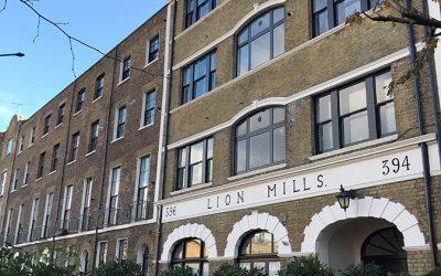 Lion Mills, London E2