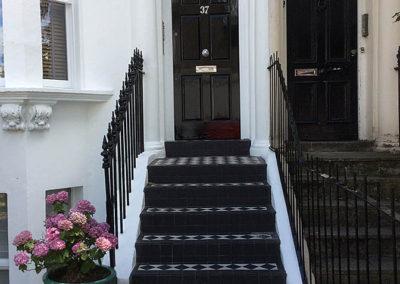 Front - door and steps